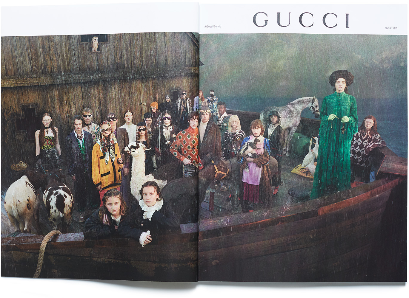 45343cefb3 Gucci Cruise 2019 Campaign with Leon R and Tom A - Tomorrow Is Another Day