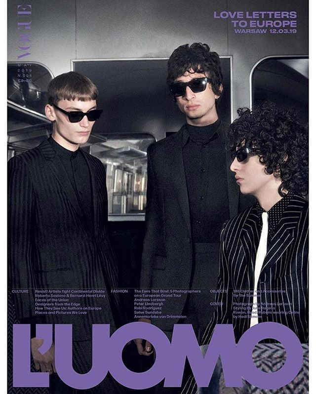 Raad (@raadstergram) for L'Uomo Vogue. Creative direction by Thomas Persson, photography by Andreas Larsson, styling by Julie Ragolia, hair by Matt Mulhall and casting by Piergiorgio Del Moro and Samuel Ellis Scheinman.