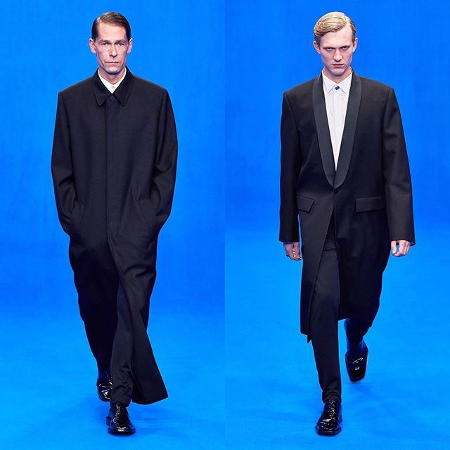 Ingo (@ingosli) and Michael B for Balenciaga SS20. Hair by Gary Gill and makeup by Inge Grognard. Thank you @demnagvasalia and @mrt4000.