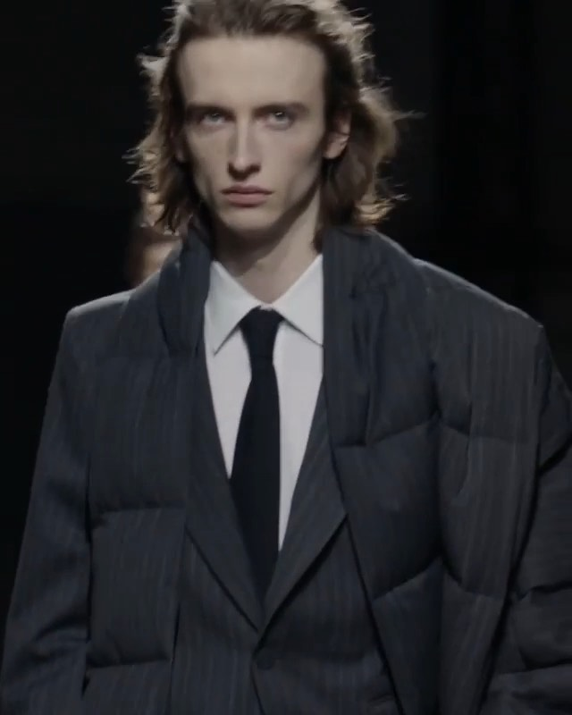 Benno (@bennobulang) for Dries Van Noten AW19.