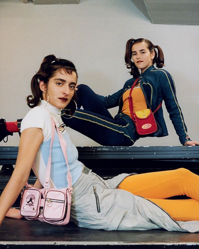 Matilde (@crispedflour) and her sister Margarida for Dazed Magazine. Photography by Pascal Gambarte, styling by Ai Kamoshita, hair by Kiyoko Odo, makeup by Luciano Chiariello and casting by Noah Shelley.