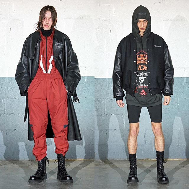 Ringo (@ringolukas) and David (@atomkraftjabitte) for Vetements AW20.