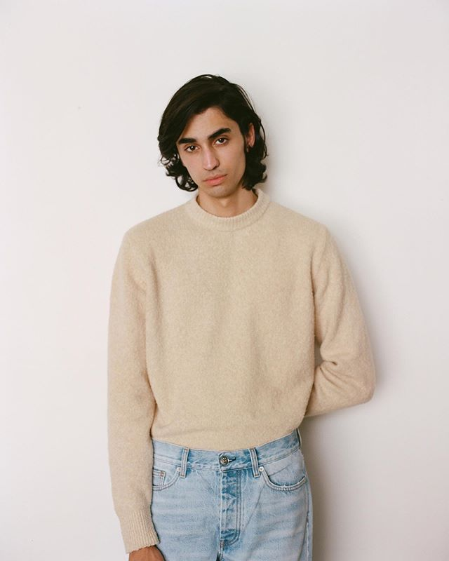 Aramish (@aramishmangi) for Browns Spring/Summer 2020. Photography by Jonathan Middleton, styling by Kendal Mae Boyle and grooming by Erin Green.