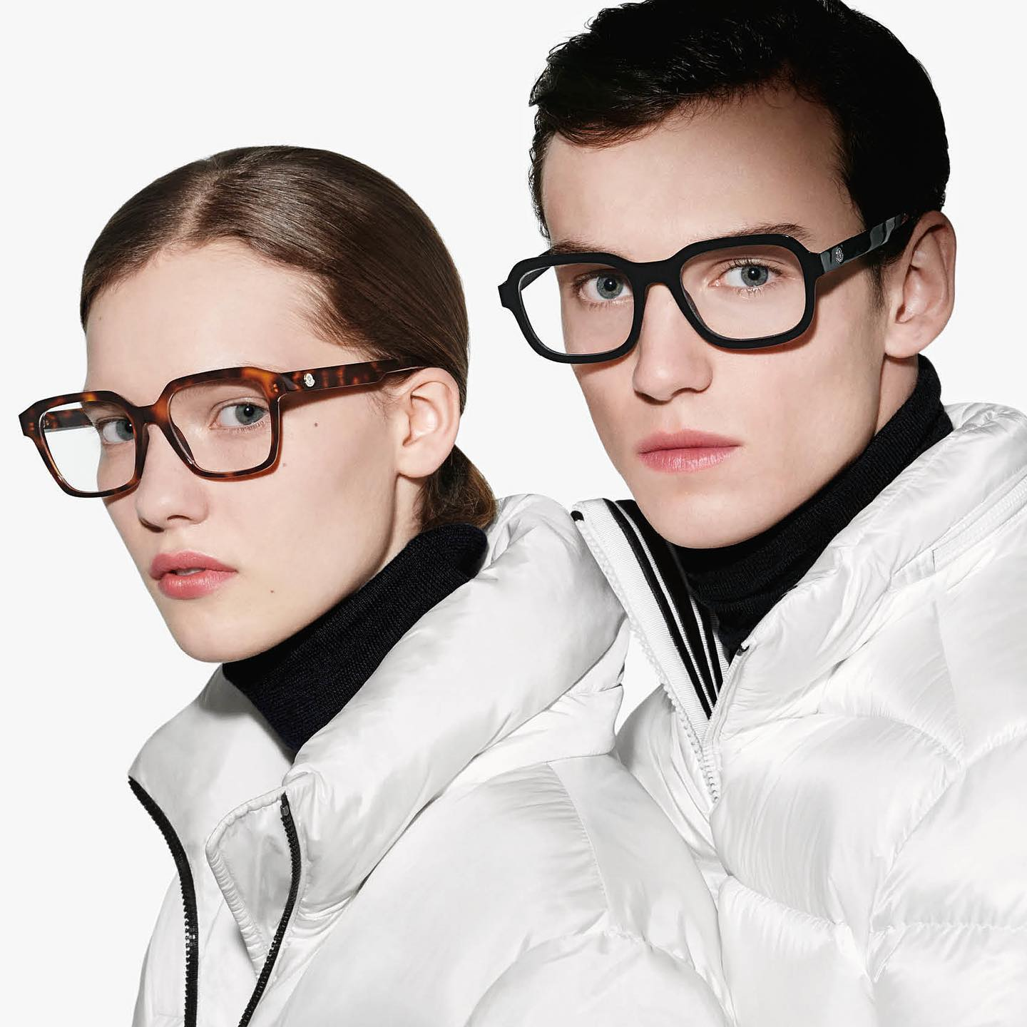 Jakob Z (@jakobzimny) for Moncler Eyewear Autumn/Winter 2020. Photography by Christian MacDonald, styling by Karl Templer, hair by Martine Cullen, makeup by Ariel Yeh and casting by DMCASTING.